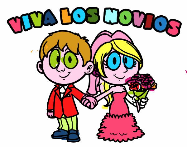 Dibujo de Viva los novios pintado por en Dibujos.net el ...