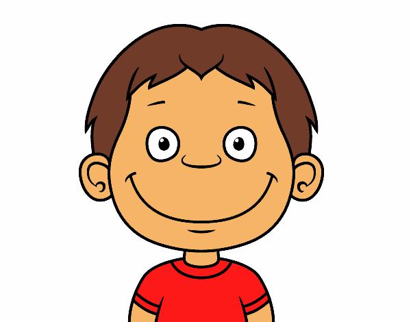 Dibujo De Cara De Niño Pequeño Pintado Por En Dibujosnet El Día 11