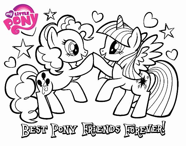 Dibujo de Mejores Pony Amigas para siempre pintado por en Dibujos ...