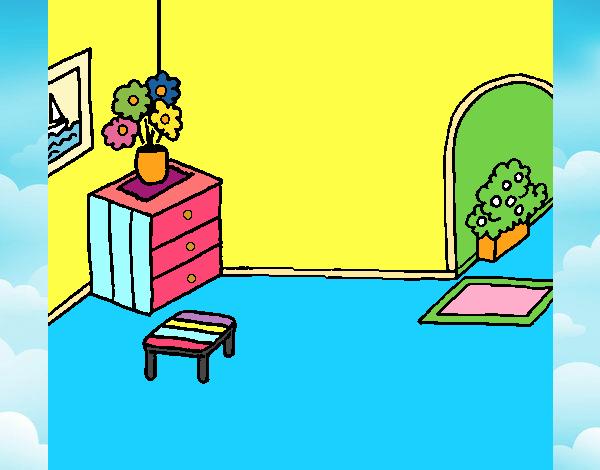 Dibujo De Casa Por Dentro Pintado Por En Dibujosnet El Día 07 11 18