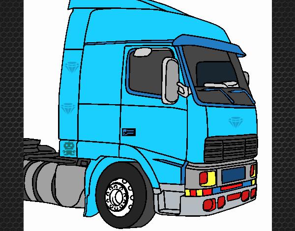 Dibujo De Camion1 Pintado Por Somal En Dibujos Net El Día