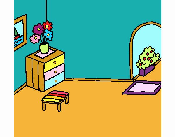 Dibujo De Casa Por Dentro Pintado Por En Dibujosnet El Día 14 11 18