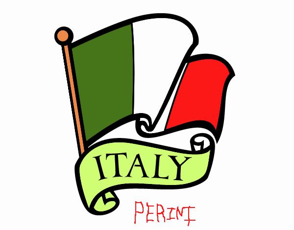 Dibujo De Bandera De Italia Pintado Por En Dibujos Net El Dia 21 11