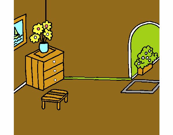 Dibujo De Casa Por Dentro Pintado Por En Dibujosnet El Día 30 11 18