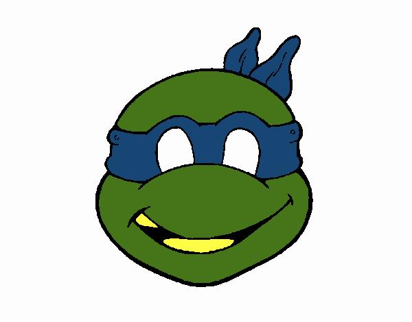 Dibujo De Máscara Tortuga Ninja Pintado Por En Dibujosnet El Día 13
