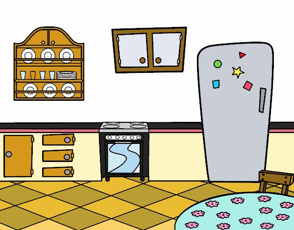 Dibujo De Cocina Office Pintado Por En Dibujos Net El Dia 13 08 19