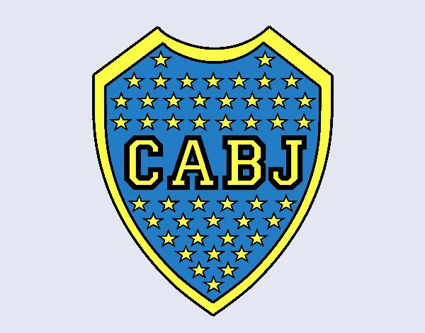 Dibujo de Escudo del Boca Juniors pintado por en Dibujos.net el ...