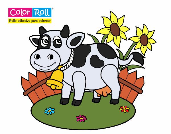 Dibujo De La Vaca Lola Pintado Por En Dibujos Net El Dia 14 08 19
