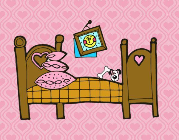 Dibujo De Dormitorio Pintado Por En Dibujosnet El Día 30 08