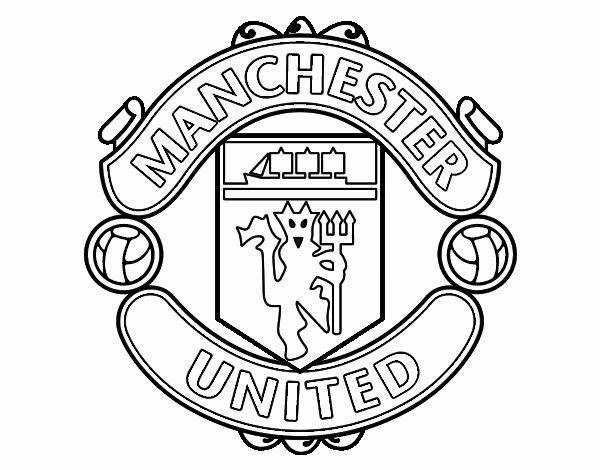 Dibujo De Escudo Del Manchester United Pintado Por En Dibujos Net El Día 04 09 19 A Las 17 48 17 Imprime Pinta O Colorea Tus Propios Dibujos