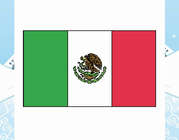 Dibujo De Viva México Pintado Por En Dibujosnet
