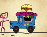 Food truck de hamburguesas