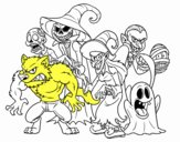 Monstruos de Halloween
