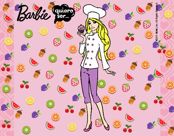 Barbie de chef