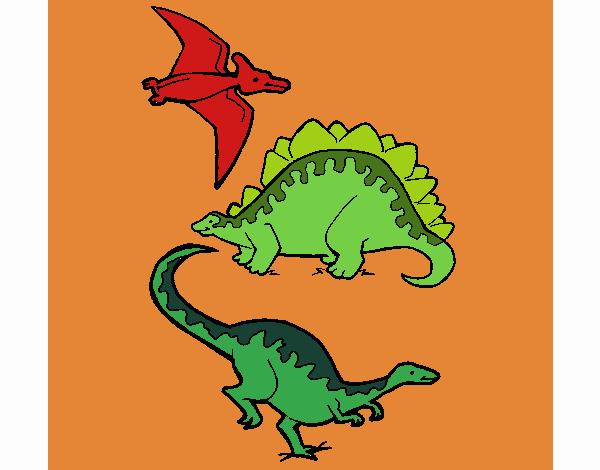 Dibujo De Tipos De Dinosaurios Pintado Por En Dibujos Net El Dia 30 05 20 A Las 20 36 22 Imprime Pinta O Colorea Tus Propios Dibujos Desde feroces terópodos como el tiranosaurio rex y el spinosaurus hasta enormes saurópodos como el diplodocus y el brachiosaurus. dibujo de tipos de dinosaurios pintado