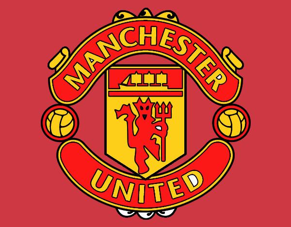 Dibujo De Escudo Del Manchester United Pintado Por En Dibujos Net El Día 09 07 20 A Las 15 48 24 Imprime Pinta O Colorea Tus Propios Dibujos