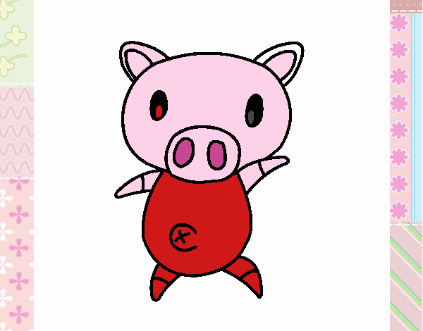 piggy cartoon