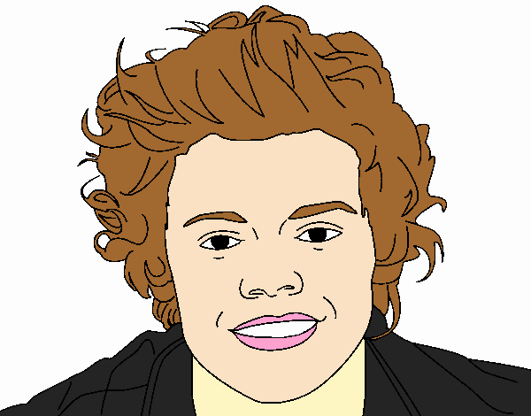 Retrato de Harry Styles