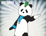Oso Panda Just Dance