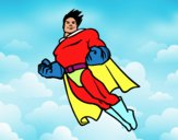 Superman volando