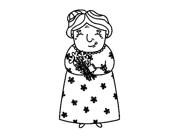 Te Amo Abuelita Para Colorear - tongawale.com