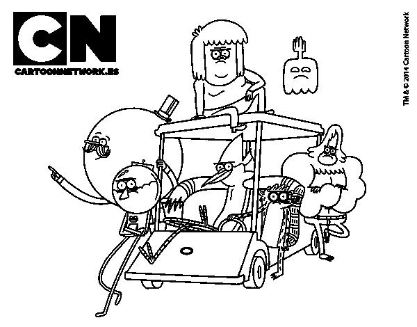 Dibujo De Amigos De Historias Corrientes Para Colorear Dibujosnet