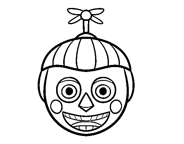 Dibujo De Balloon Boy De Five Nights At Freddys Para