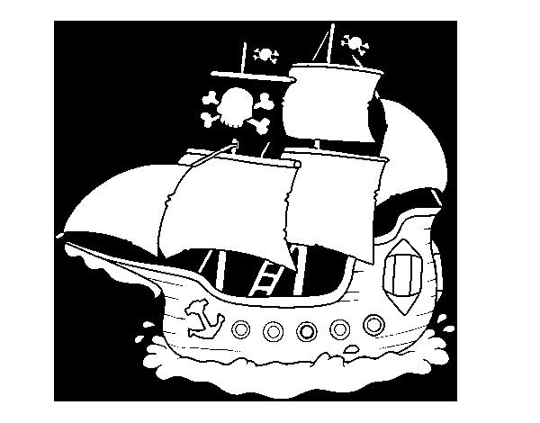 Único Barco Para Colorear Imprimible Molde - Dibujos de Animales ...