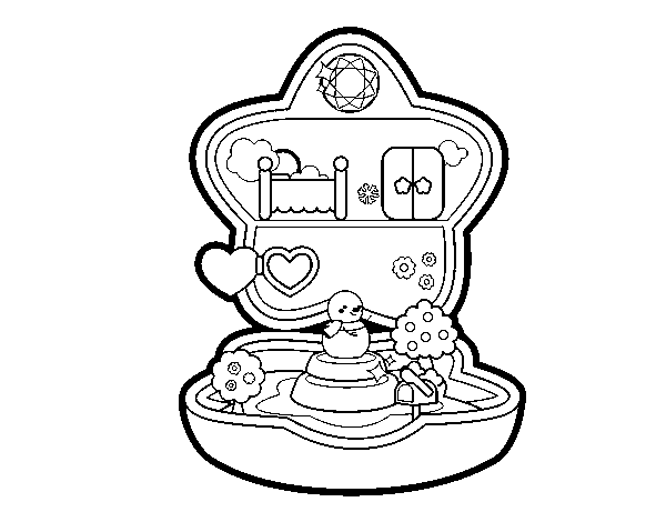 Dibujo De Caja De Musica Kawaii Para Colorear Dibujos Net