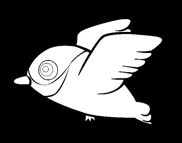 Dibujo de Cardenal para Colorear - Dibujos.net