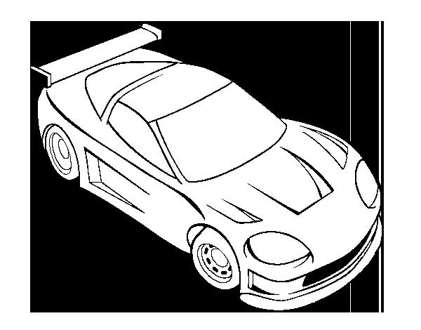 Dibujo de Coche moderno para Colorear   Dibujos.net