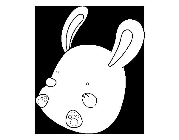 Dibujo de Conejo bebé para Colorear - Dibujos.net
