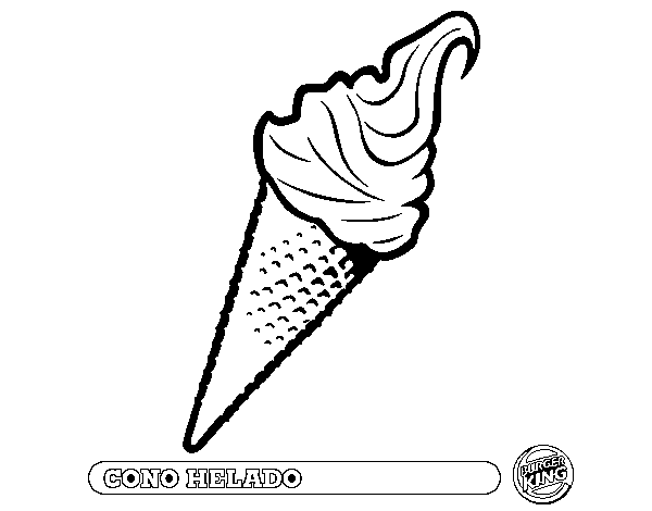 best Dibujos De Helados Para Colorear E Imprimir image collection