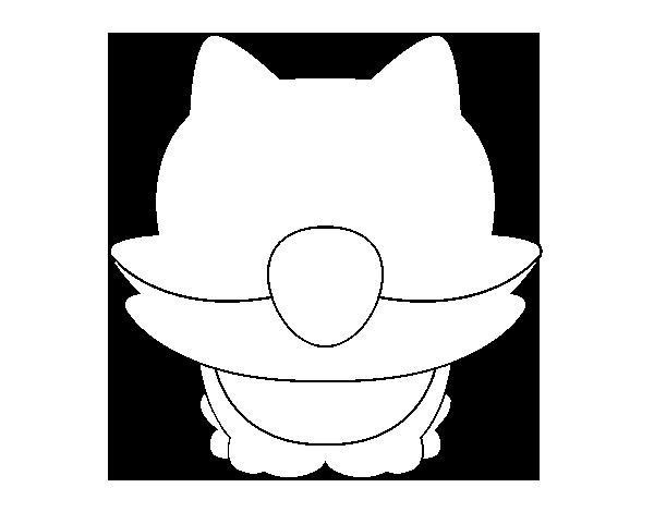 Dibujo de Cría de guepardo para Colorear - Dibujos.net