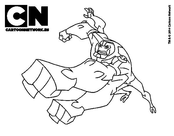 Dibujo De Cuatrobrazos Para Colorear Dibujosnet