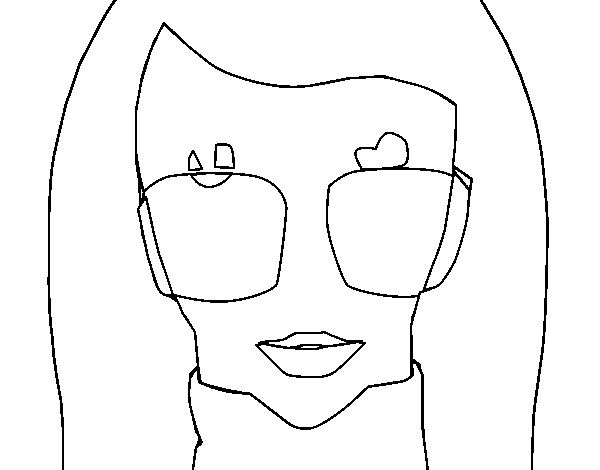 Dibujo de Diseñadora de moda para Colorear - Dibujos.net