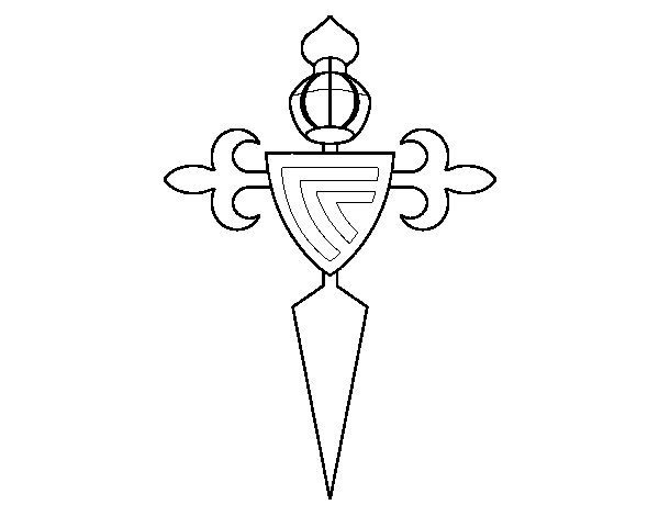 Excepcional Página Para Colorear Celta Composición - Ideas Para ...