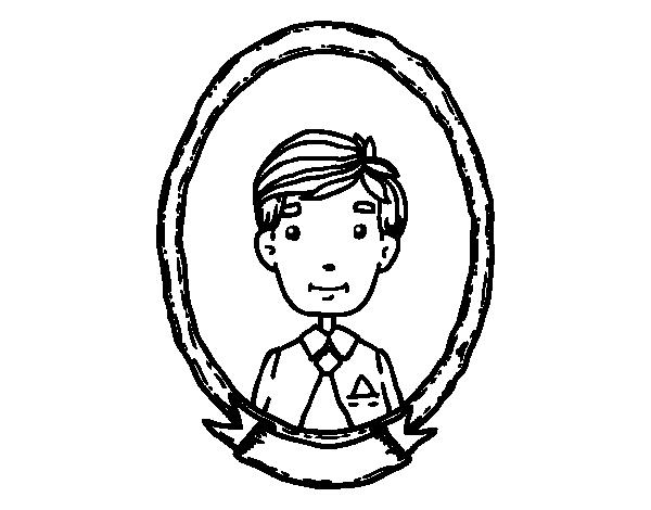 Dibujo De Foto De Papá Para Colorear Dibujosnet