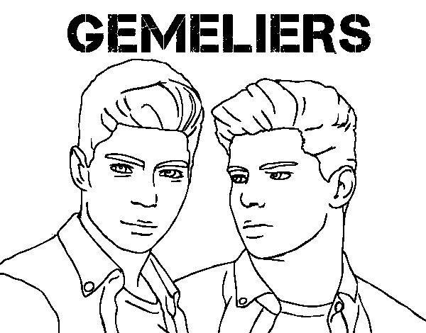 Dibujo de Gemeliers   Mil y una noches para Colorear   Dibujos.net