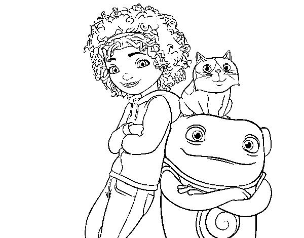 Dibujo de Home - Hogar dulce hogar para Colorear - Dibujos.net