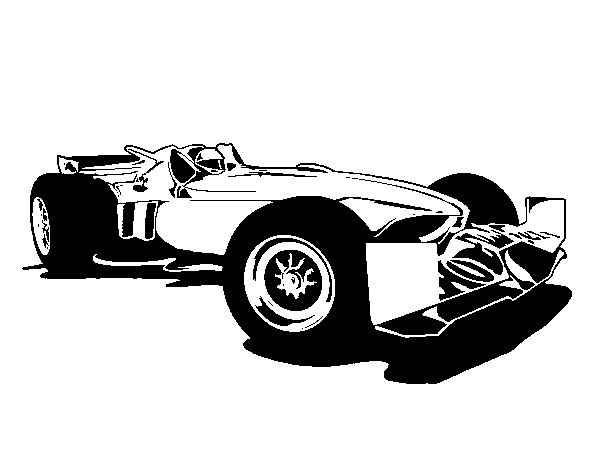 Dibujo de Hot Wheels Tyrrell P34 para Colorear - Dibujos.net