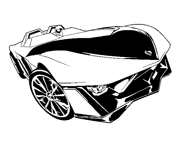 Dibujo De Hot Wheels Yur So Fast Para Colorear Dibujos Net
