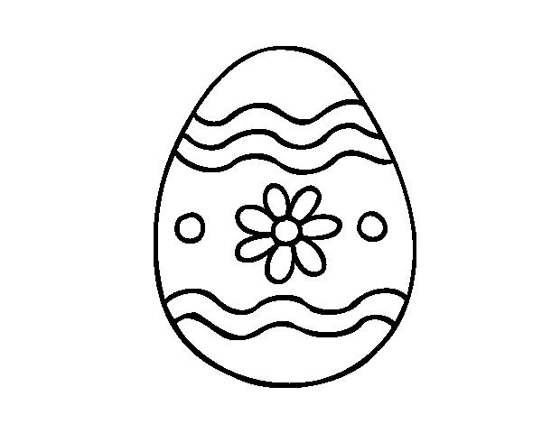 best Huevos De Pascua Para Colorear image collection