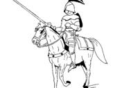 Dibujos De Caballeros Para Colorear Dibujosnet