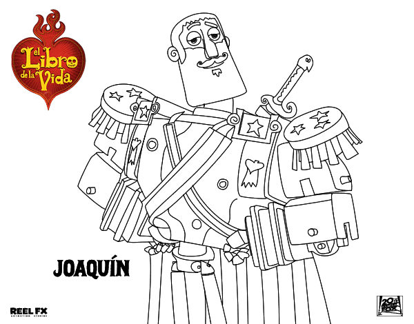Dibujo de Joaquín para Colorear - Dibujos.net