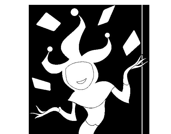 Dibujo De Joker Para Colorear Dibujosnet