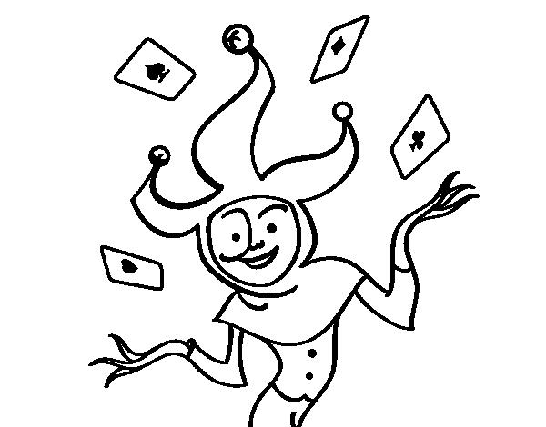 Dibujo De Joker Para Colorear Dibujos Net