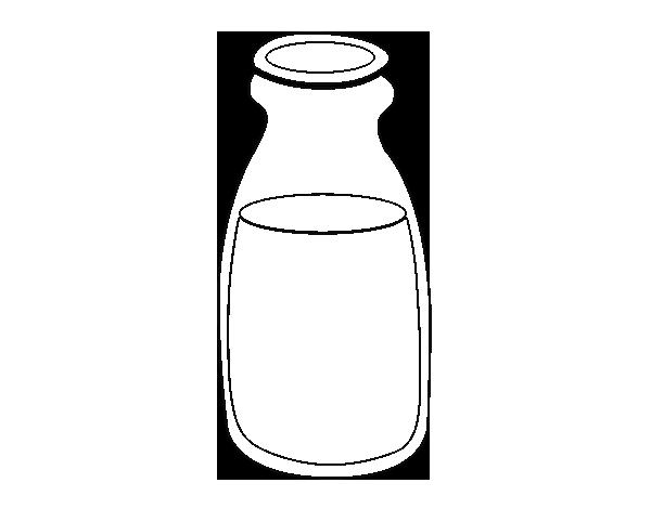 Dibujo de Leche para Colorear - Dibujos.net