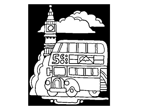 Dibujo de Londres para Colorear   Dibujos.net