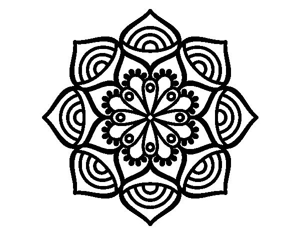 Dibujo De Mandala Crecimiento Exponencial Para Colorear Dibujos Net